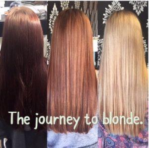 Going Blonder