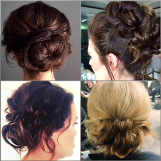 four up-do inspirations