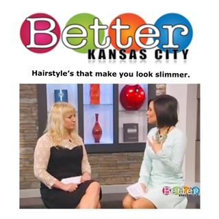 Slimming Hairstyles
