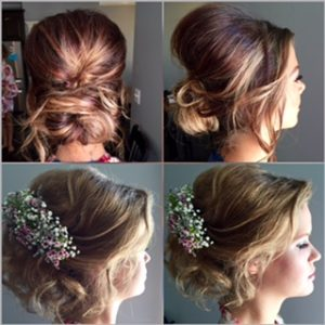 two examples of a formal up-do
