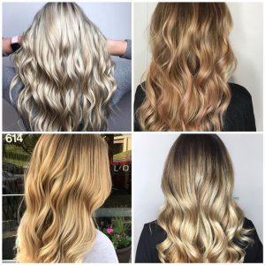 Balayage Blondes