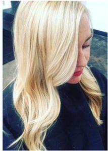 blonde highloght