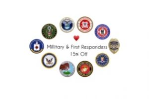 image of all the 1st responder badges