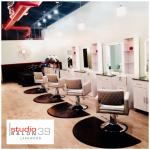 silver hair salon chairs