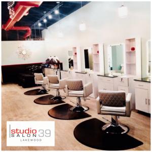 studio 39 salon of lee's summit inside