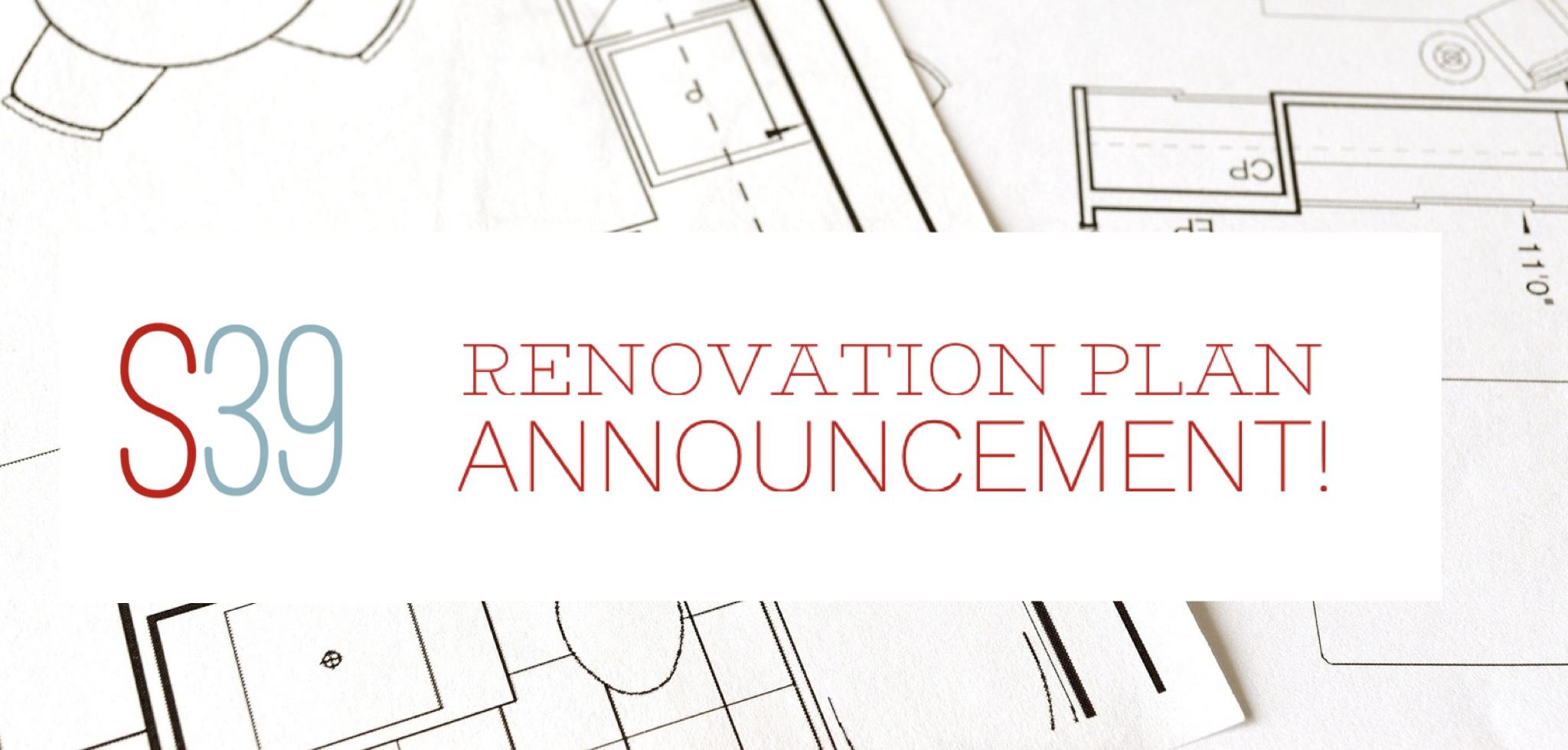 downtown renovation plan